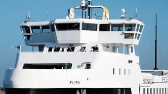 «Ellen»: Die grösste Elektro-Fähre der Welt mit Schweizer Batterie. Bild: zvg