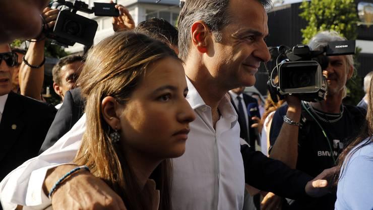 Kyriakos Mitsotakis wird nächster Regierungschef Griechenlands.