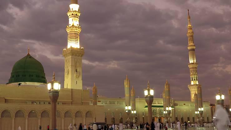 Anschlagsziel Prophet-Mohammed-Moschee in Medina.