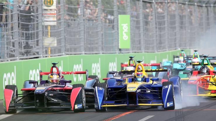 Schon im Juni rasen die Formel-E-Boliden durch Zürich. (Archiv)