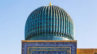 Das Gur-Emir-Mausoleum in Samarkand. (Bild: Getty Images)