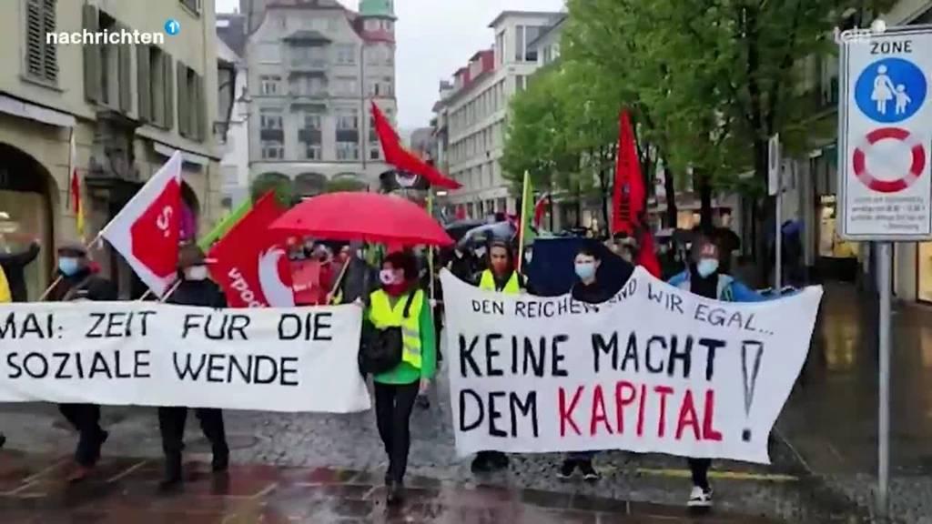 Gewerkschaften feiern Tag der Arbeit