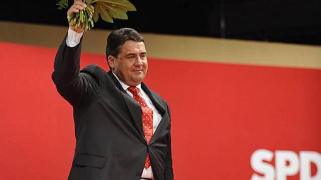 Sigmar Gabriel ist neuer Parteivorsitzender der SPD