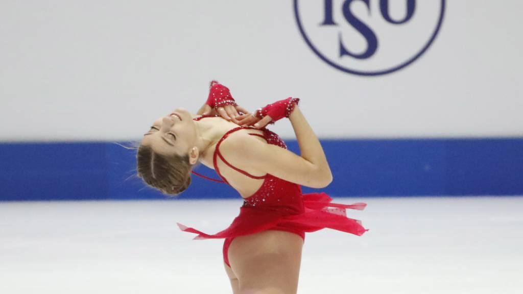 Alexia Paganini überzeugte im Kurzprogramm