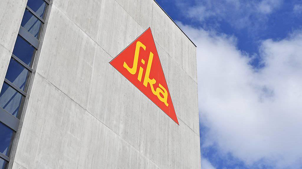 Sika übernimmt ein US-Unternehmen (Archivbild).