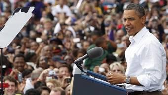 """US-Präsident Obama spricht anlässlich des """"Labor Day"""" in Detroit"""