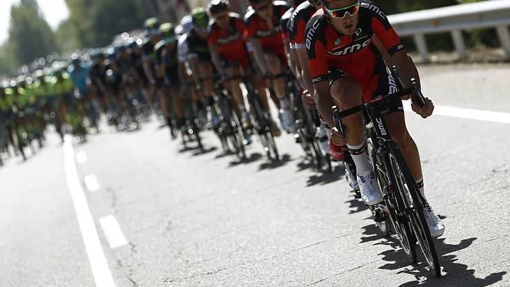 Das amerikanisch-schweizerische Team BMC feiert an der Spanien-Rundfahrt einen Etappensieg