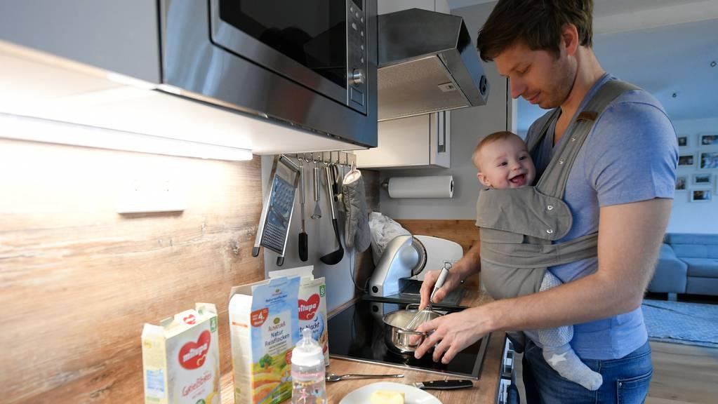 Kinder brauchen ihre Väter nicht nur in den ersten zwei Wochen.