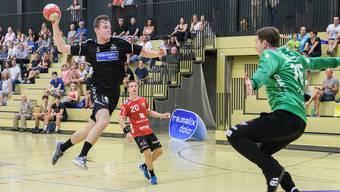 Der RTV 1879 Basel trifft in der vierten Runde der NLA-Handballmeisterschaft auf den HSC Suhr Aarau.