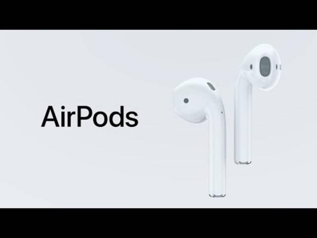 So bewirbt Apple seine neuen kabellosen Kopfhörer, die AirPods