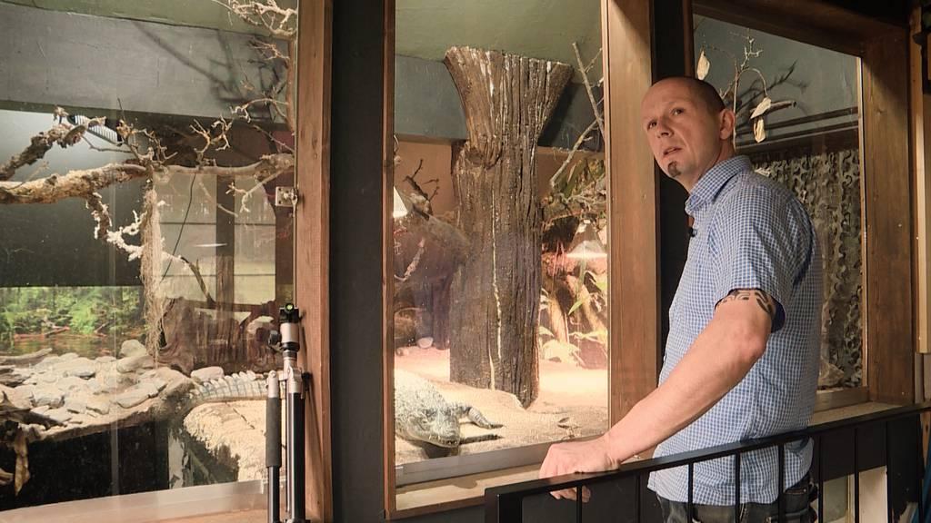 Tierliebe extrem: Erich und sein Reptilienhaus