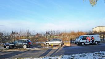 Unfall mit drei Fahrzeugen fordert vier Verletzte