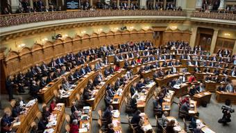 Blick in den Nationalratssaal. Welche Solothurner sitzen in der neuen Legislatur hier?