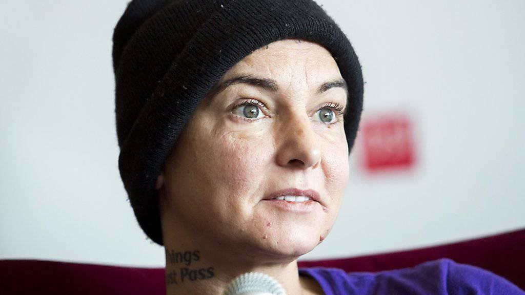 Sinéad O'Connor, Sängerin des Welthits «Nothing Compares 2 U», geht es nicht gut: Sie hat angeblich gedroht, von einer Brücke in chicago zu springen. (Archivbild 2015)