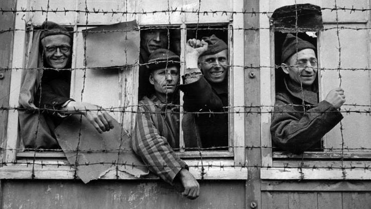 Gefangene im KZ Dachau: Die Nationalsozialisten betrieben mit den Juden Physiognomik.