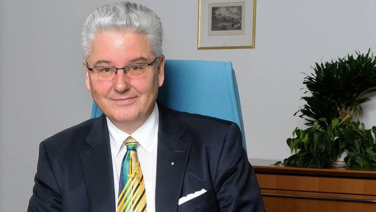 Dieter Boesch, CEO der Aquilana Versicherungen, Baden: «Mit hohen Reserven und Rückstellungen ist Aquilana ein zuverlässiger Partner.»