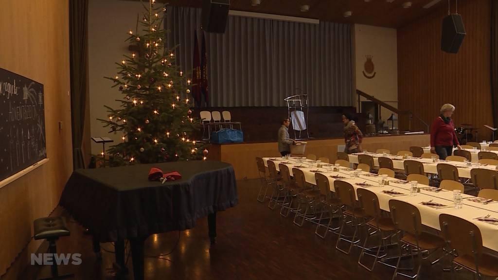 Frohe Weihnachten für einsame Menschen