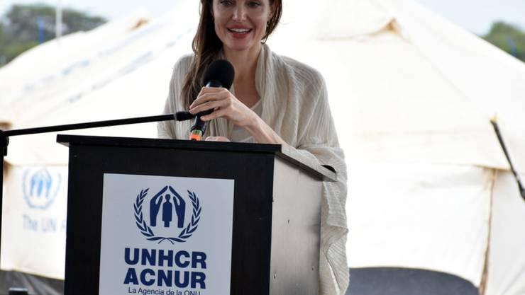 """US-Schauspielerin Angelina Jolie hat einen neuen Job: Ab Juli schreibt sie monatlich einen Beitrag für das """"Time Magazine"""". (Archivbild)"""