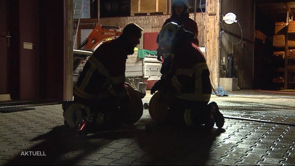 Brandstiftung in Merenschwand?