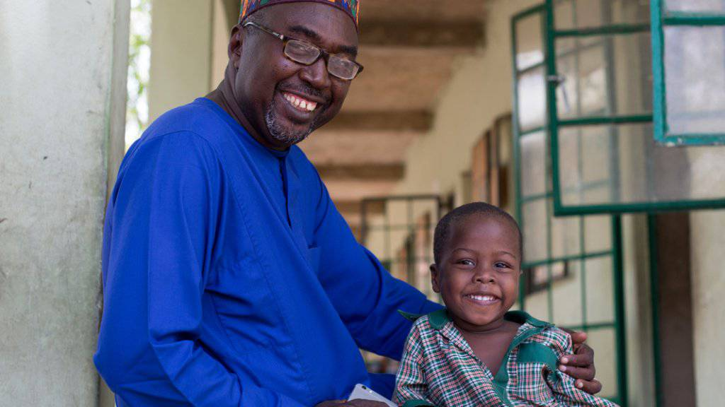 Hilfe und eine Ausbildung für die Opfer der Gewalt zwischen Armee und Boko Hara: Mustaphas Schule bietet derzeit rund 540 Kindern Platz.