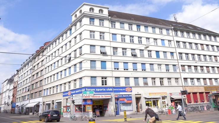 Das Johanniter Café ist unten rechts im Bild zu sehen.