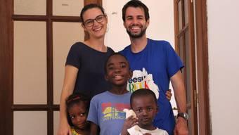 Claudio und Mirjam Steiner aus Aarau haben in der Nähe von Dakar zwei Heime für verstossene Kinder aufgebaut.