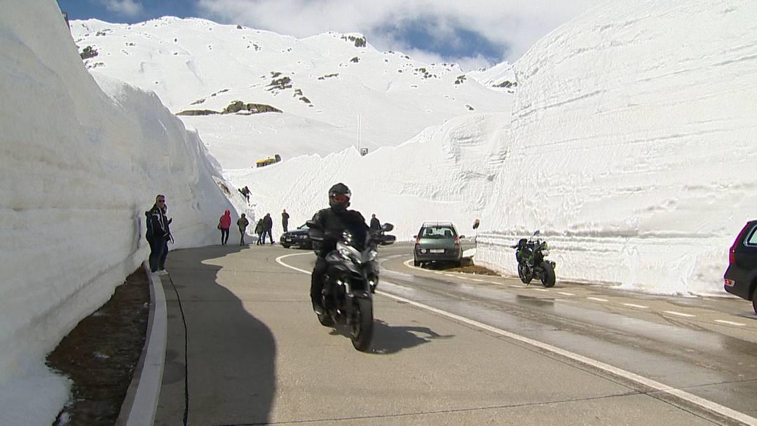Statt Gotthard-Stau: Passstrasse wieder offen