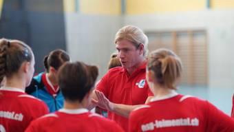 Leimental-Trainer Michel Zbinden führte seine Frauen zum Sieg. (Archivbild)