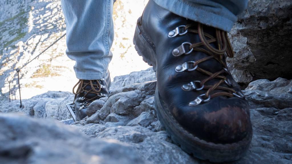 72-Jähriger beim Wandern abgestürzt und tödlich verunfallt