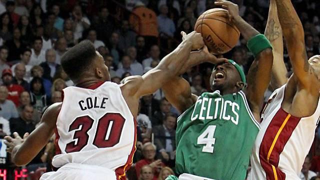 Celtics hatten in Miami schweren Stand.