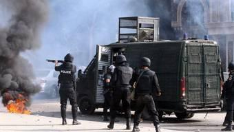 Polizei-Einsatz gegen Protestierende in Kairo