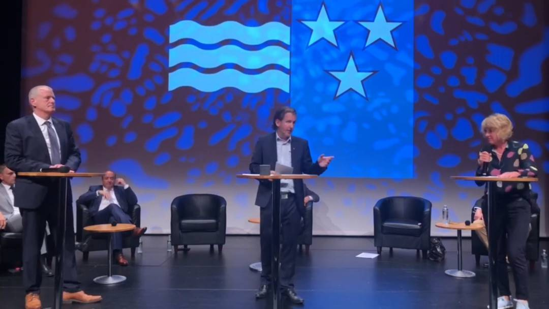 Podium Regierungsratskandidaten: Das zweite Duell - Guyer gegen Attiger