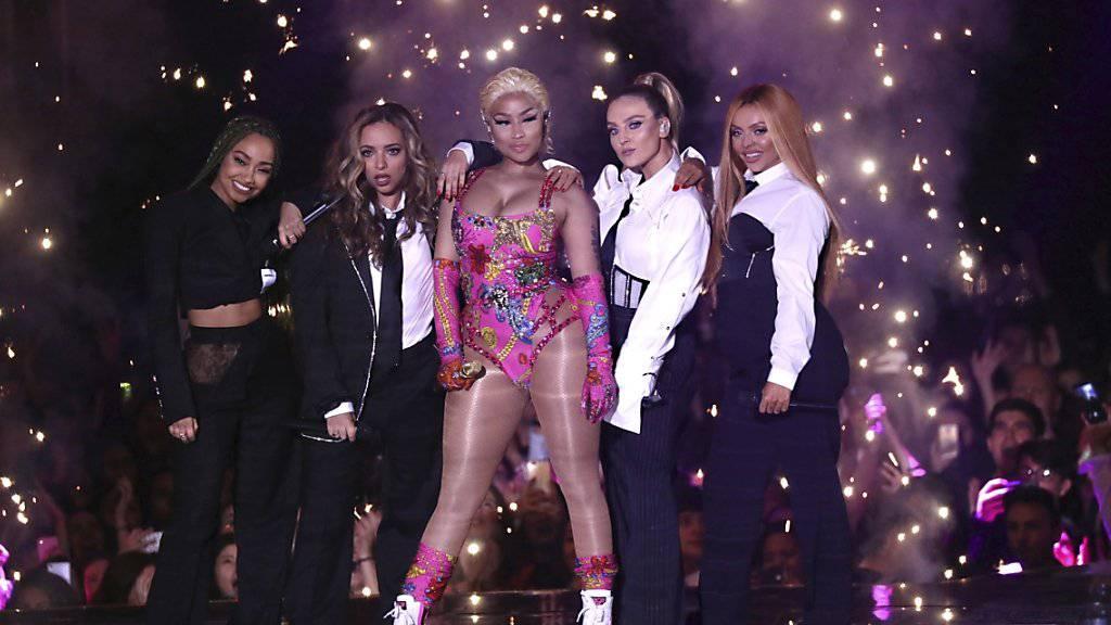Die Sängerin Nicki Minaj hat einen geplanten Auftritt in Saudi-Arabien abgesagt. (Archivbild)
