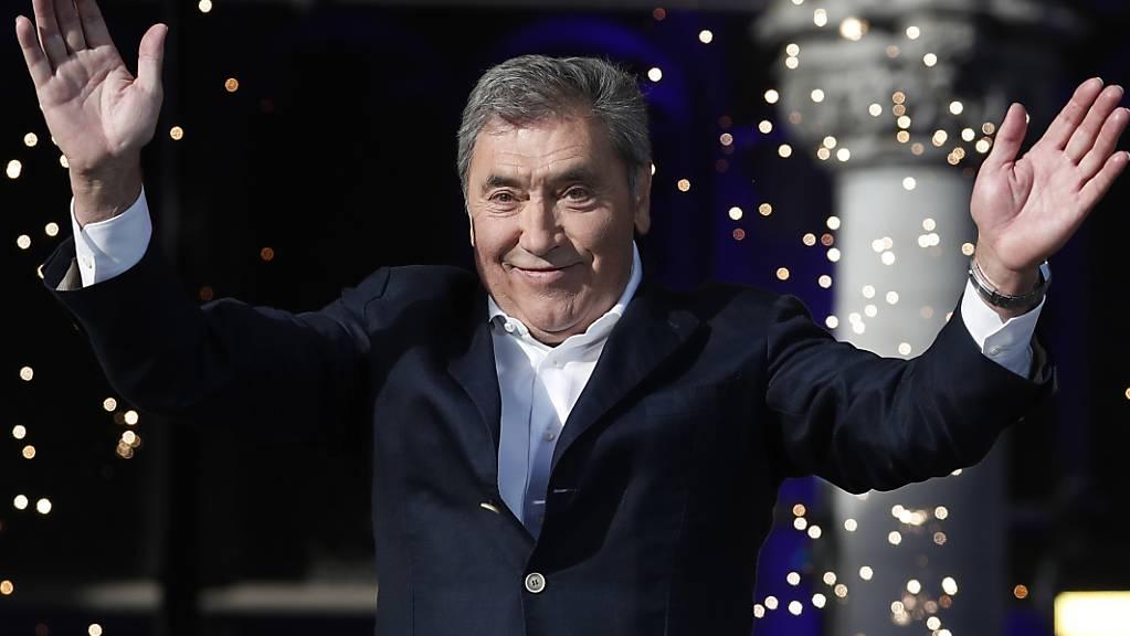 Eddy Merckx erfreut sich vor seinem 75. Geburtstag guter Gesundheit. (Archivbild)