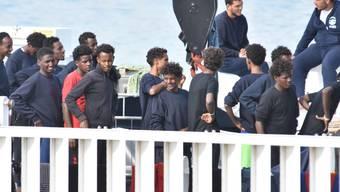 Aus für Seenotrettung im Mittelmeer: Das Mandat der Marineoperation Sophia zur Rettung von Flüchtlingen und Migranten läuft am 31. März aus. (Archiv)