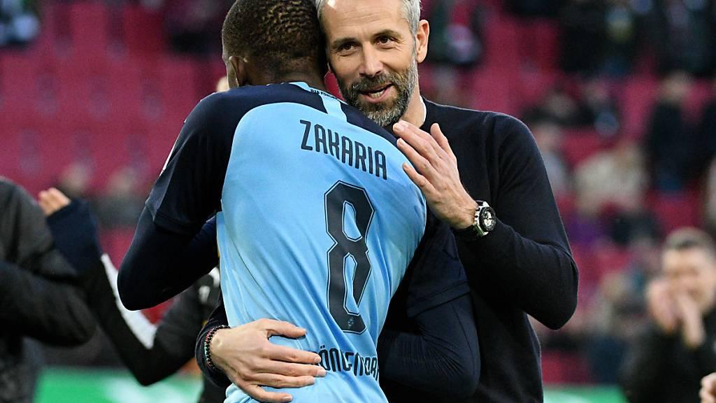 Die Schweizer in der Bundesliga: Zakaria thront über allen