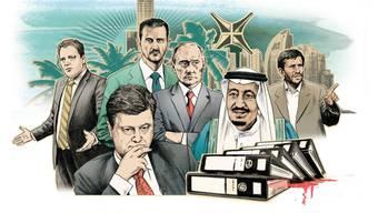 Illustration der Süddeutschen Zeitung zu den Panama Papers.