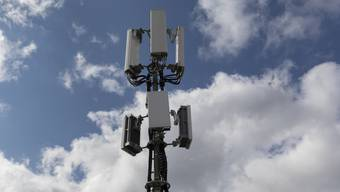 Die erste Aargauer 5G-Antenne war jene in Zeiningen. (Symbolbild)