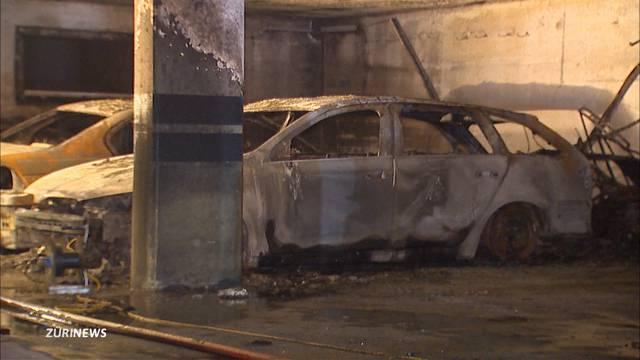 Tiefgaragenbrand Geroldswil: Feuerwehrmann ist verletzt