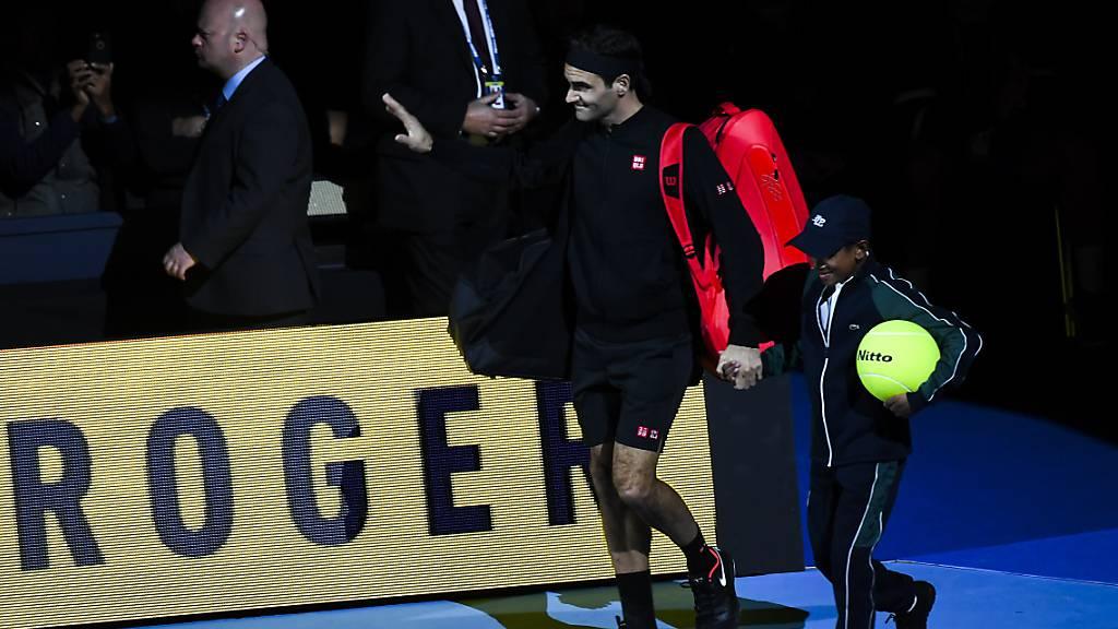Alles Roger: Federer nimmt einen nächsten Anlauf auf seinen 7. Titel an den ATP Finals - zunächst heute Samstag im Halbfinal gegen Stefanos Tsitsipas