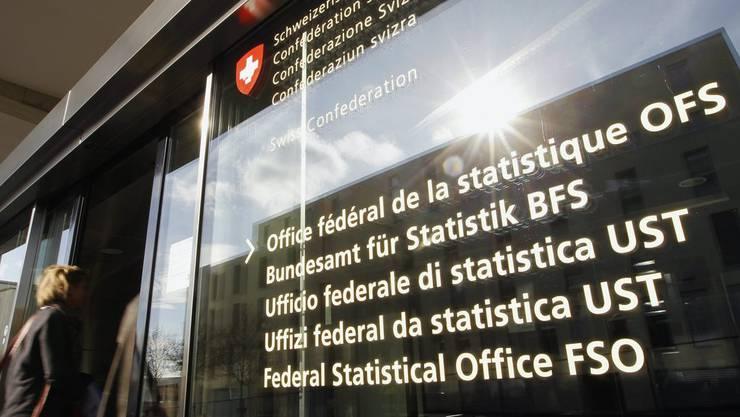 Eingang zum Bundesamt für Statistik.