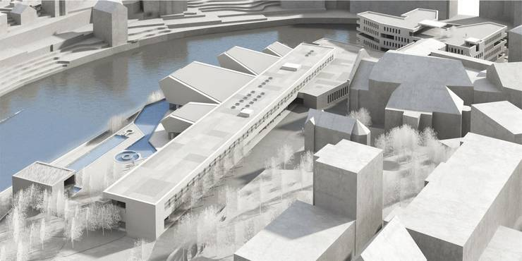 So soll das geplante Botta-Bad aussehen (Visualisierung)