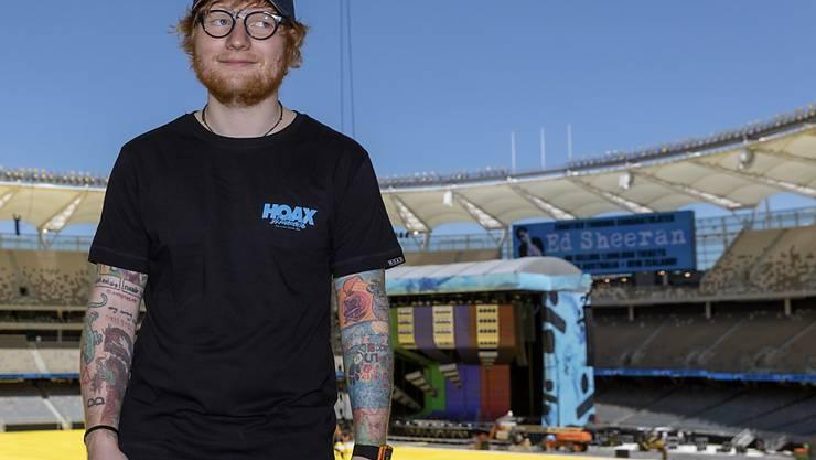 Beim Ed-Sheeran-Konzert in Essen werden 80'000 Besucher erwartet. (Symbolbild)