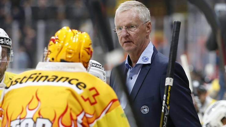 Der SC Bern setzt weiter auf seinen finnischen Erfolgstrainer Kari Jalonen