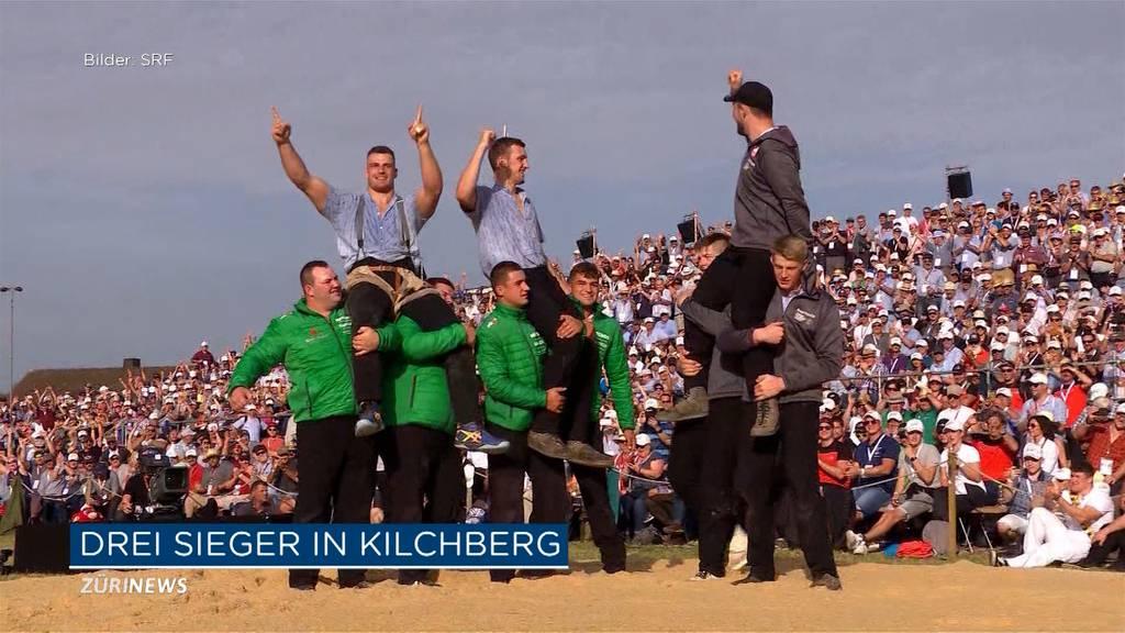 Kilchberger Schwinget endet mit 3 Festsiegern