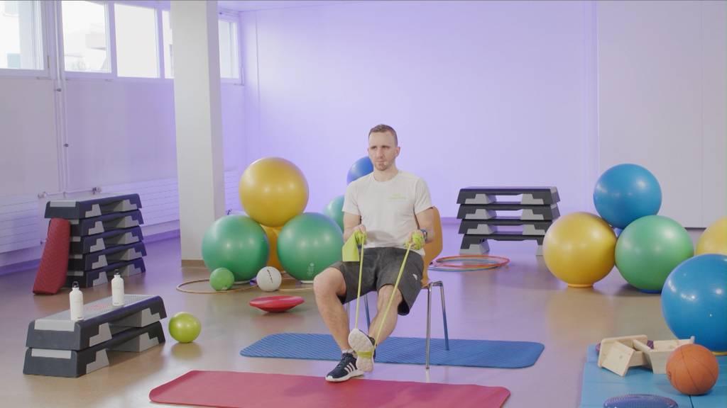 «Gymnastik im Wohnzimmer» vom 8. Oktober 2021