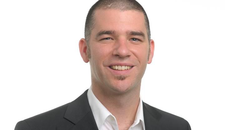 CVP-Präsident Matthias Gotter. Spichale/AZ-Archiv