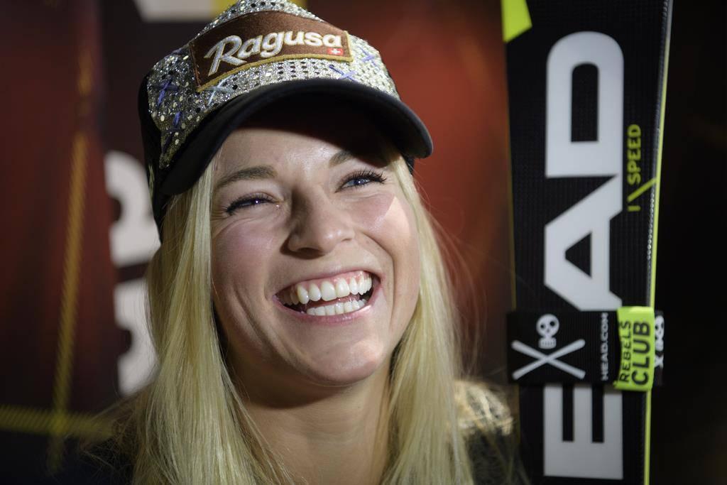 Lara Gut gibt zeigt sich vor dem Saisonauftakt gut gelaunt. (© Gettyimages/Keystone)