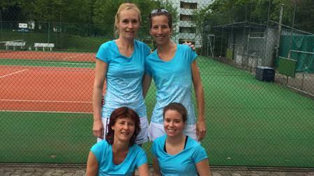 Die Damen des TC Weihermatt.