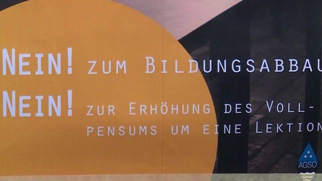 Plakat-Verbot für Kantischüler